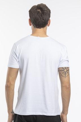 Slazenger Sannı Erkek T-shirt Beyaz St11te122 2
