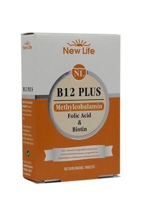 New Life B12 Plus 60 Dilaltı Tablet - Vişne 7640128140139 0