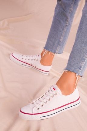 Soho Exclusive Beyaz Kadın Sneaker 15866 1