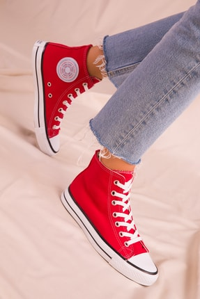 Soho Exclusive Kırmızı Kadın Sneaker 15865 1
