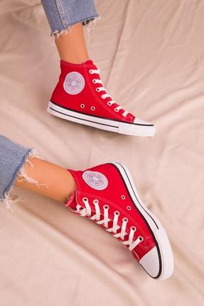 Soho Exclusive Kırmızı Kadın Sneaker 15865 2