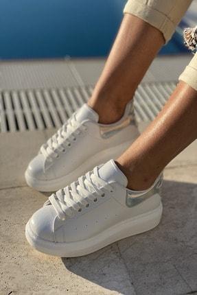 İnan Ayakkabı Unisex Delik Detaylı Parçalı Sneaker 3