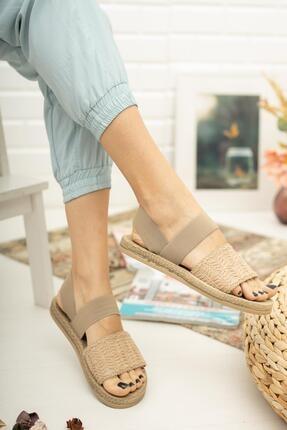 Muggo Mgnakıs03 Kadın Kahverengi Sandalet 0