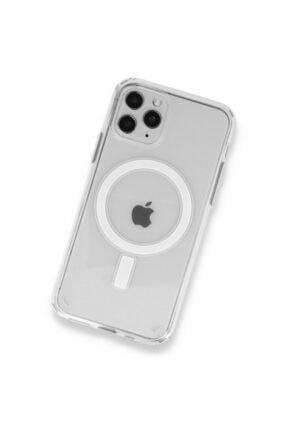 SENKA Iphone 11 Pro Uyumlu Magsafe Özellikli Şeffaf Kılıf 1