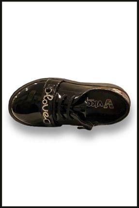 Vicco Love Fermuarlı Rugan Ayakkabı Siyah 969.v.513 2