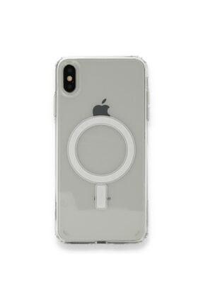SENKA Iphone Xs Max Uyumlu Magsafe Özellikli Şeffaf Kılıf 0