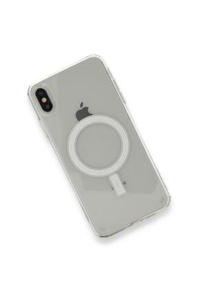 SENKA Iphone Xs Max Uyumlu Magsafe Özellikli Şeffaf Kılıf 1