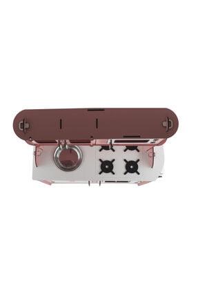 EMRİN AHŞAP OYUNCAK VE HEDİYELİK EŞYA Pembe Renk -Büyük Boy  Evcilik Oyuncak Mutfak Seti - Montessori - Model:epyb1 4