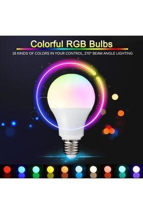 VİZYON Uzaktan Kumandalı Renk Değiştiren Ampul Rgb 9w Beyaz Dahil 16 Renkli 3