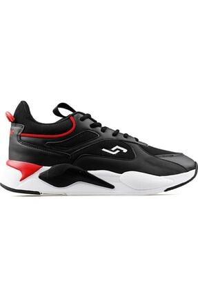 Jump Erkek Siyah Yüksek Taban Sneaker 24770 1