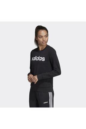adidas Kadın siyah  Sweatshırt Dp2363 W E Lın Sweat 1