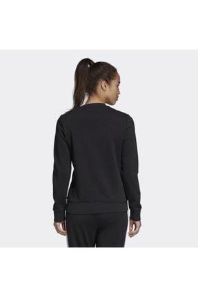 adidas Kadın siyah  Sweatshırt Dp2363 W E Lın Sweat 2