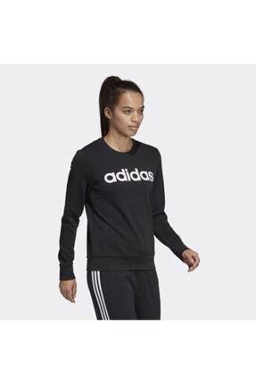 adidas Kadın siyah  Sweatshırt Dp2363 W E Lın Sweat 3