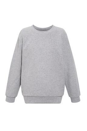 Defacto Erkek Çocuk Basic Selanik Kumaş Sweatshirt 2
