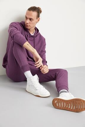Defacto Oversize Fit Kapüşonlu Basic Sweatshirt 1