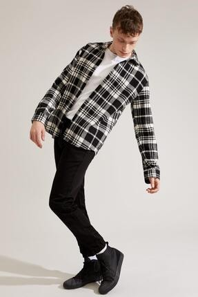 Defacto Regular Fit Uzun Kollu Gömlek Ceket 1