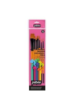 Pebeo 7 Li Çok Amaçlı Fırça Seti - Set 15 0