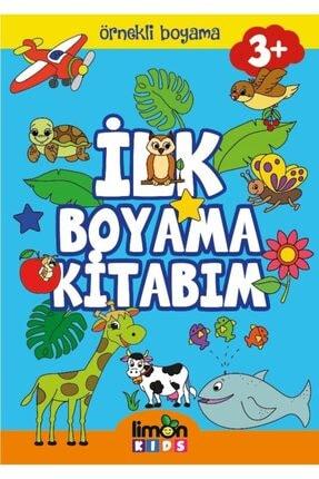 Limonkids Ilk Boyama Kitabım-örnekli Boyama 0