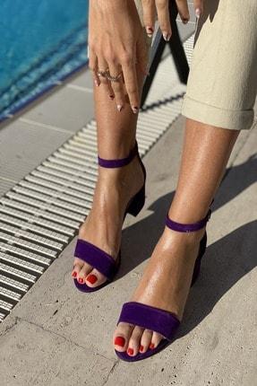 İnan Ayakkabı Baan Tek Bant Bilekli Topuklu Ayakkabı 1