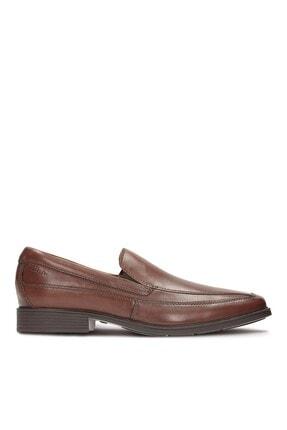 CLARKS Hakiki Deri Kahverengi Erkek Ayakkabı 261103147 0
