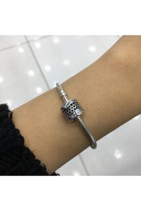 My Story Taşlı Dantel Gümüş Charm 3