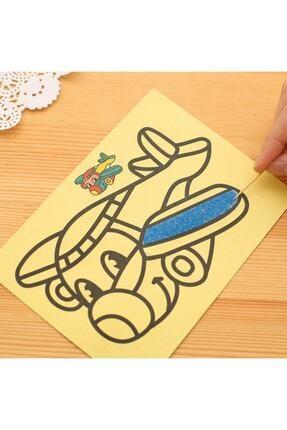Magic Hobby 50 Adet A4 Boyutunda Kum Boyama Seti 1