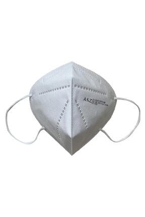 A&Z Med N95 Maske Telli Ve Tek Tek Paketli 10 Adetlik 1 Kutu - Toplam 10 Adet Maske 1