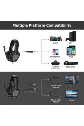 Zore Oyuncu Kulaklığı Onikuma K20 Rgb Oyuncu Kulaklığı 3.5mm 2