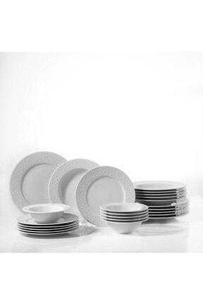 Kütahya Porselen Açelya 24 Parça Yemek Seti 2