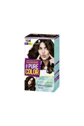 Pure Color 5-1 Buzlu Çikolata 0