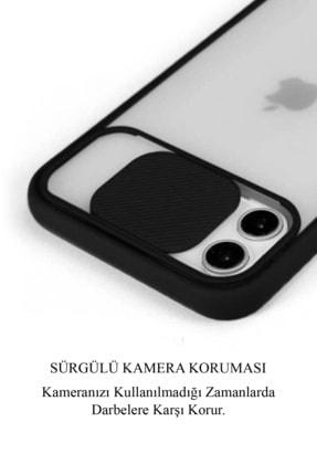 KZY İletişim Samsung Galaxy A71 Uyumlu Kapak Lensi Açılır Kapanır Kamera Korumalı Silikon Kılıf 1