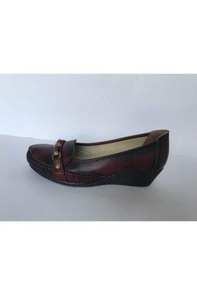 Kadın Bordo Topuklu Ayakkabı DM200