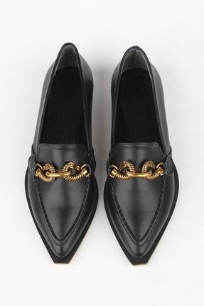 Marjin Kadın Siyah Loafer Ayakkabı Tolira 2