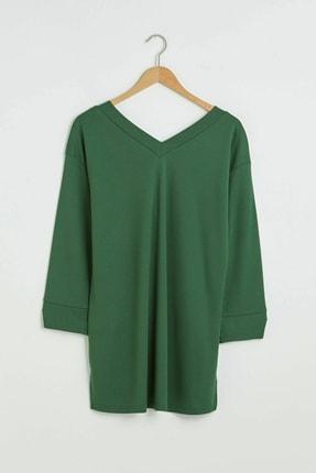 LC Waikiki Kadın Orta Yeşil Tunik 1