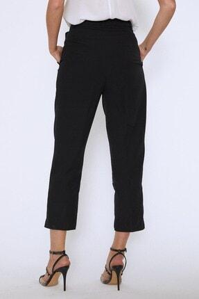 Quzu Kadın Siyah Beli Kuşaklı Pantolon 4