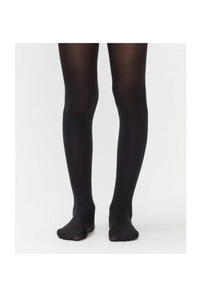 Penti Kız Çocuk Siyah Pretty Pamuk Külotlu Çorap   Pccppamg17sk 0