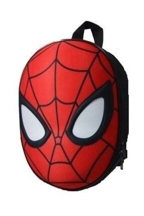 Spiderman 3d Kabartmalı Anaokulu Kreş Ve Günlük Kullanım Çantası Örümcek Adam Sırt Çantası 0