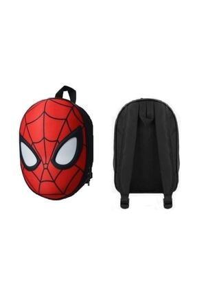 Spiderman 3d Kabartmalı Anaokulu Kreş Ve Günlük Kullanım Çantası Örümcek Adam Sırt Çantası 3
