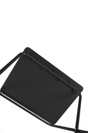 Tedarikcenter Laptop Masası Katlanabilir Çalışma Masası Koltuk Sehpası 52x41 Cm Masa - Siyah 3