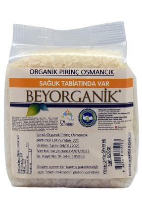 BEYORGANİK Organik Osmancık Pirinç 500gr 0
