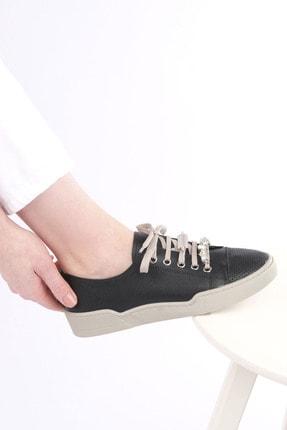 Marjin Kadın Siyah Sneaker Ayakkabı Dalis 1