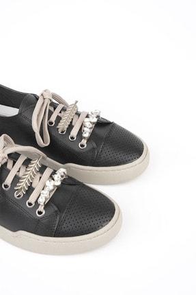 Marjin Kadın Siyah Sneaker Ayakkabı Dalis 3
