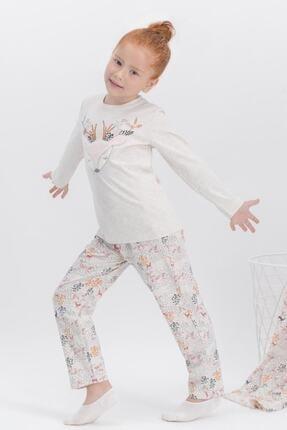 تصویر از 346-2-v1 Kız Çocuk Uzun Kol Pijama Takım