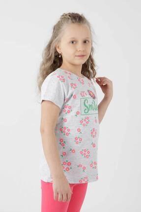 Ahenk Kids Ak621721108 Kız Çoçuk Smile Baskılı Taytlı Takım 2