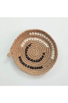 Limenis Afrika Etnik Üçlü Hasır Tabak Seti Bohem Afrikan Sepeti Duvar Dekoru 2