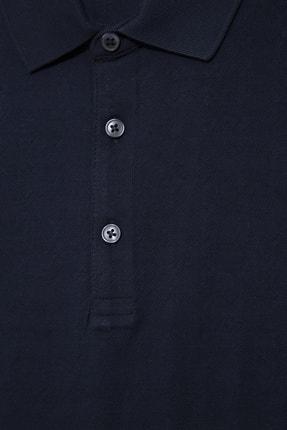 Halifaks Erkek Lacivert Polo Yaka T-shirt 1