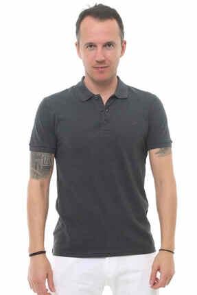 Cazador Erkek Gri Kısa Kolu Tshirt 0