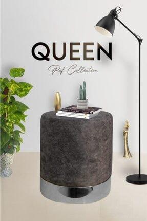Zem Queen Grey - Silver Puf 0
