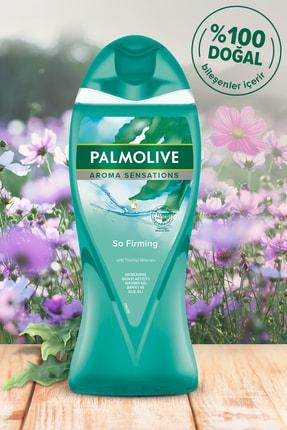 Palmolive Aroma Sensations So Firm Banyo Ve Duş Jeli 500 ml X 2 Adet Duş Lifi Hediye 1