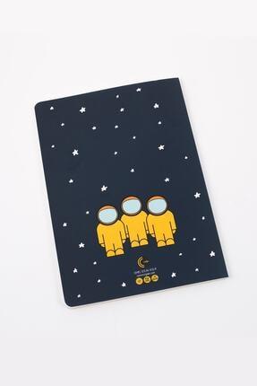 Chill & Feel Astronaut - A5 Defter - Çizgisiz 1